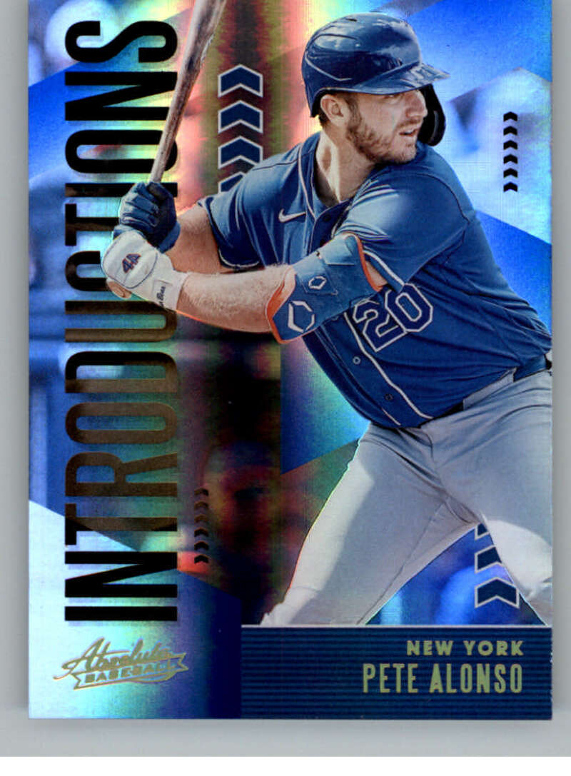 2020 Panini Absolute Introductions Spectrum Blue