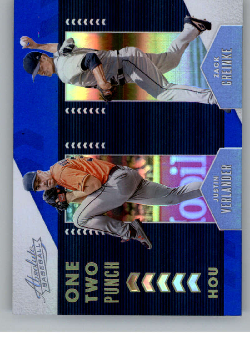 2020 Panini Absolute One Two Punch Spectrum Blue