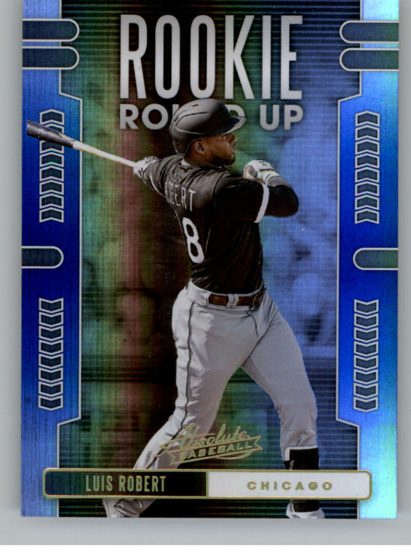 2020 Panini Absolute Rookie Round Up Spectrum Blue