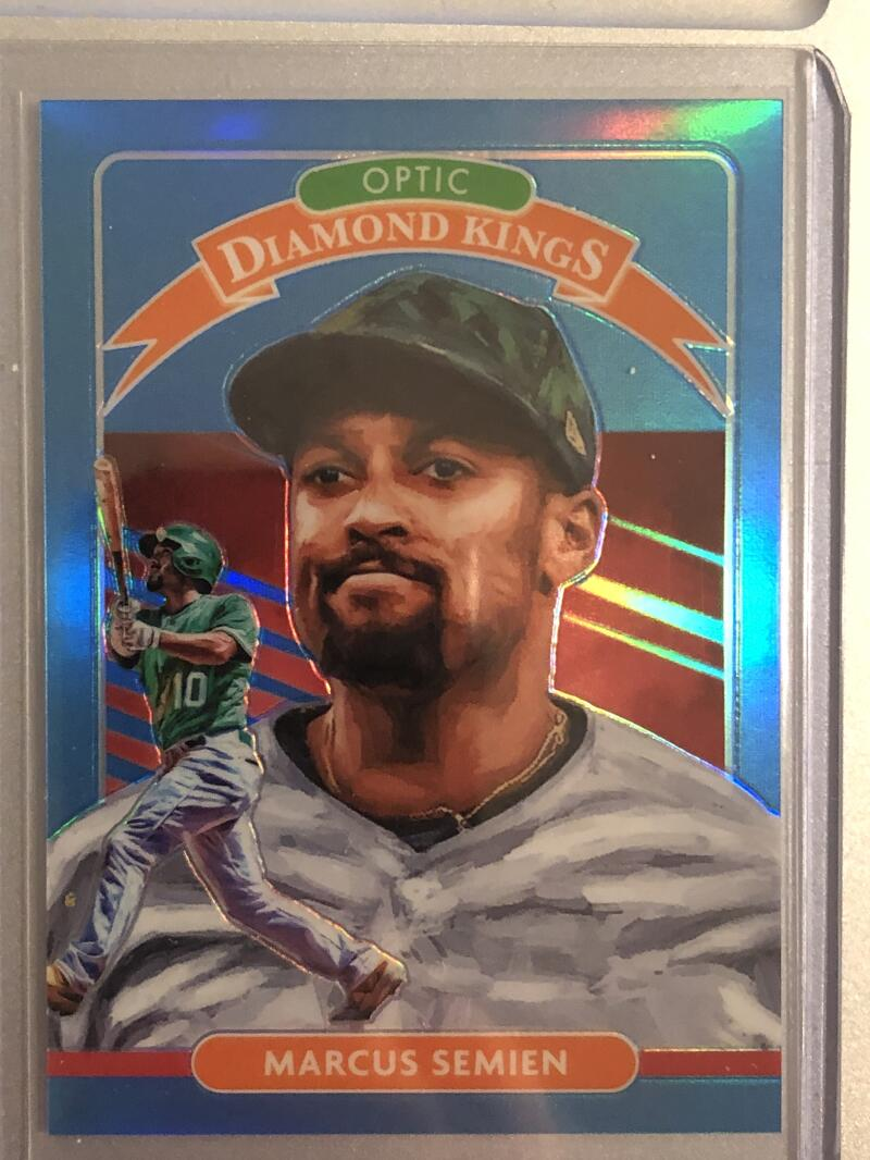 2020 Donruss Optic Carolina Blue