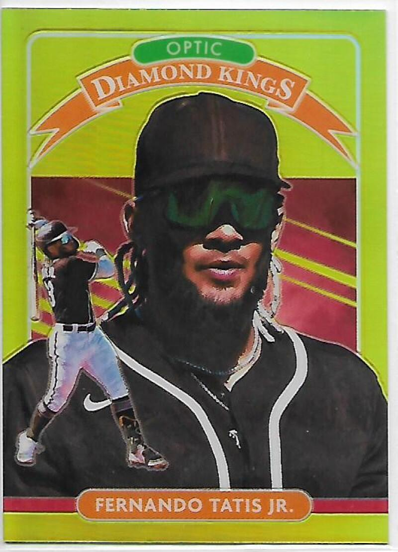 2020 Donruss Optic Lime Green