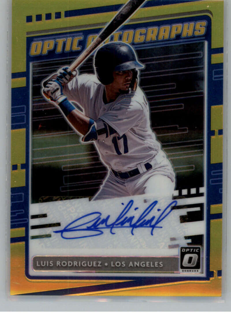 2020 Donruss Optic Autographs Gold