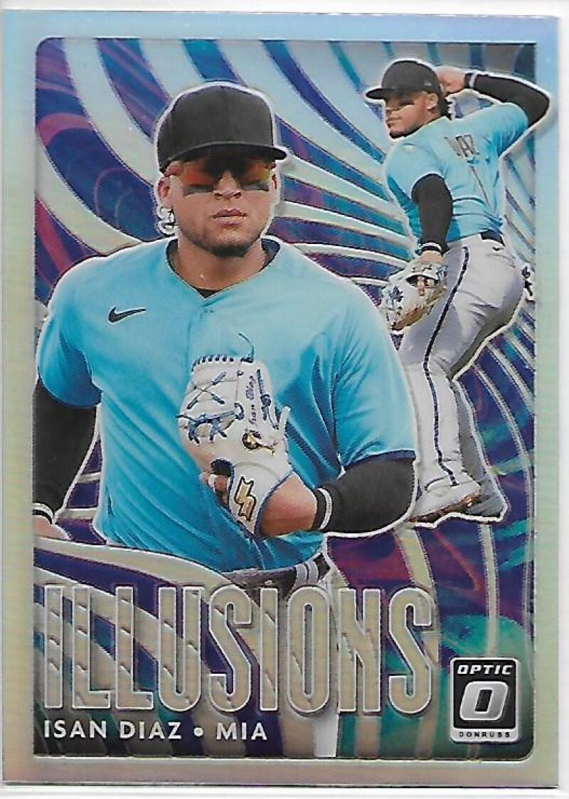 2020 Donruss Optic Illusions Holo