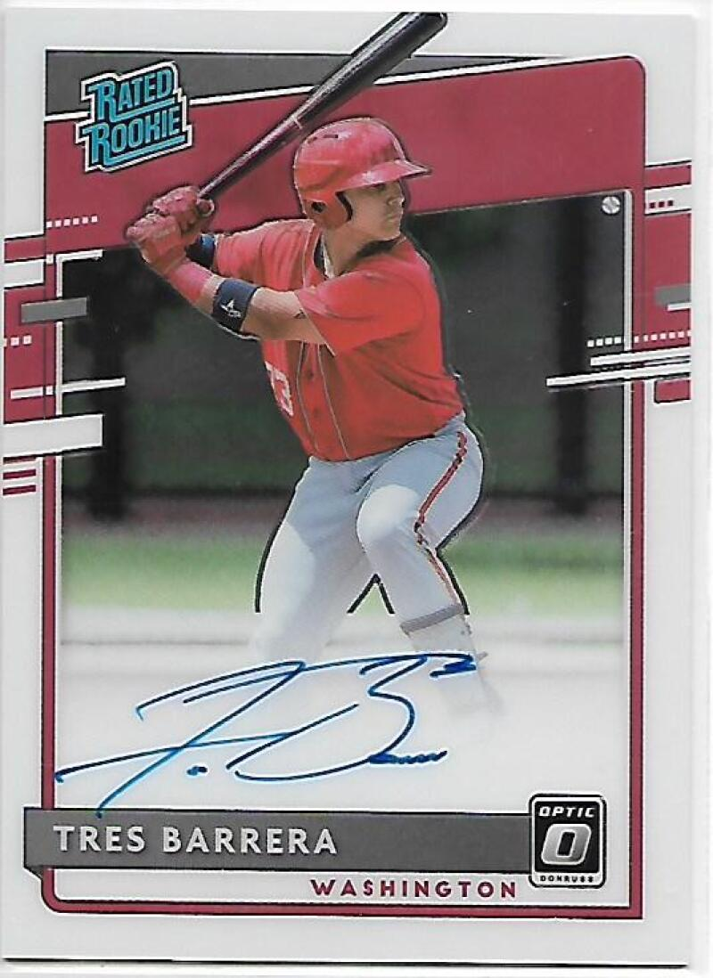2020 Donruss Optic Rated Rookies Signatures