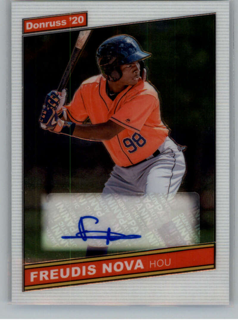2020 Donruss Optic Signature Series