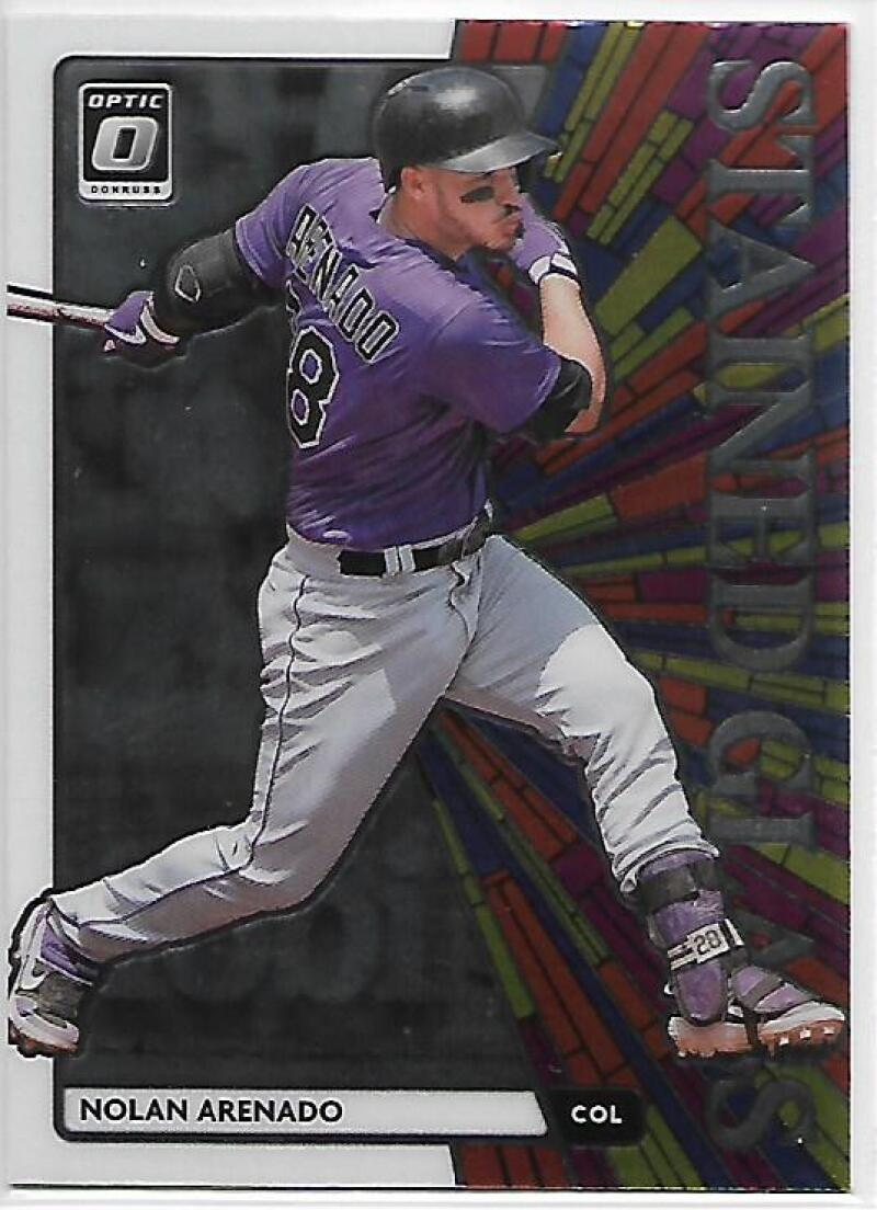 2020 Donruss Optic Stained Glass