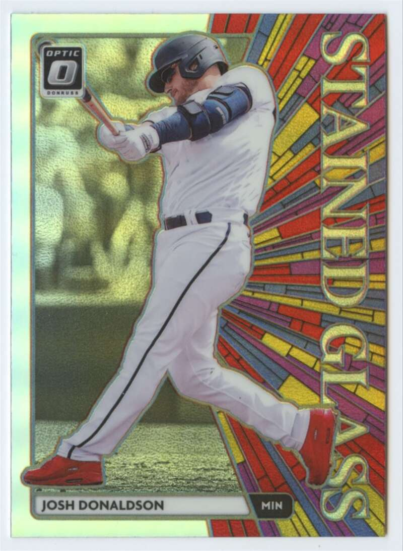 2020 Donruss Optic Stained Glass Holo