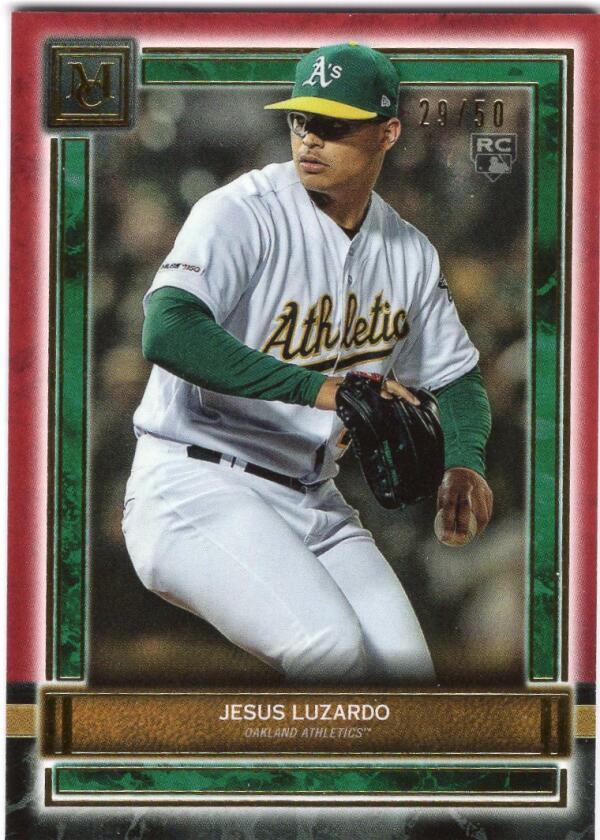 2020 Topps Museum Ruby