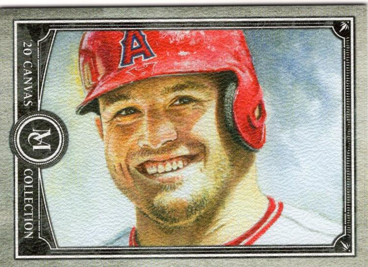 2020 Topps Museum Canvas Collection Reprints