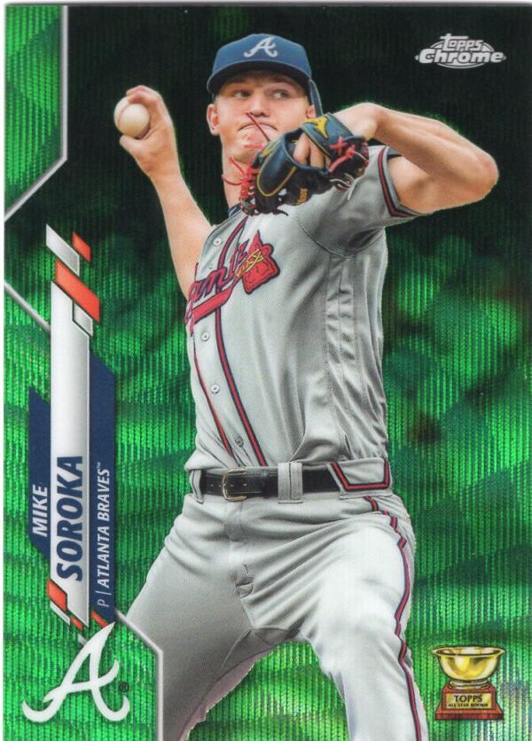 2020 Topps Chrome Refractors Green Wave