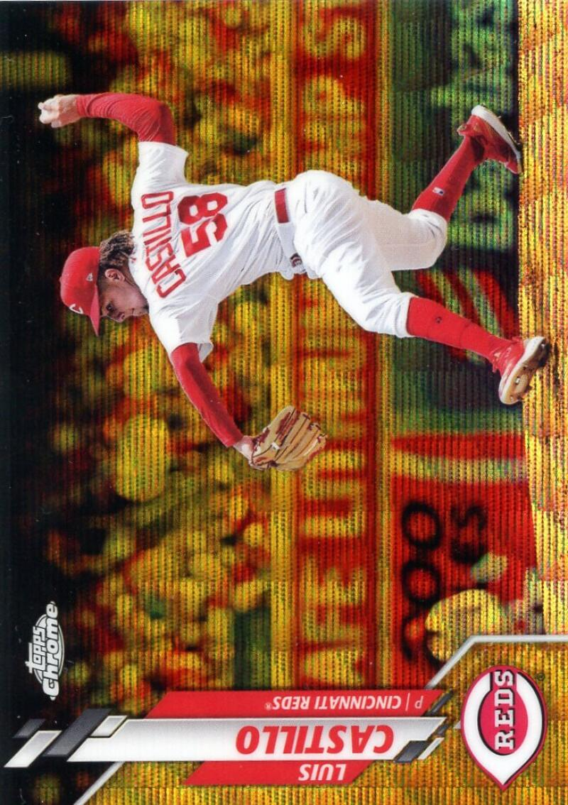 2020 Topps Chrome Refractors Gold Wave