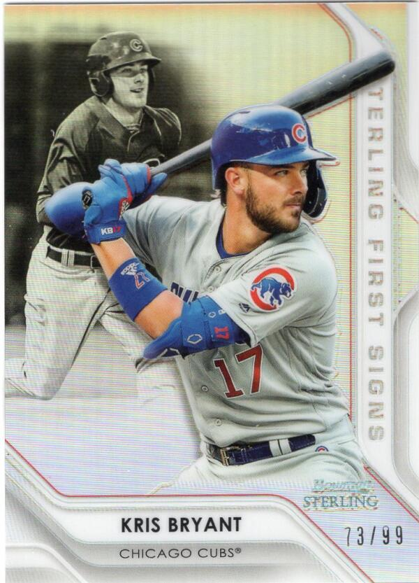 2020 Bowman Sterling First Signs Refractors