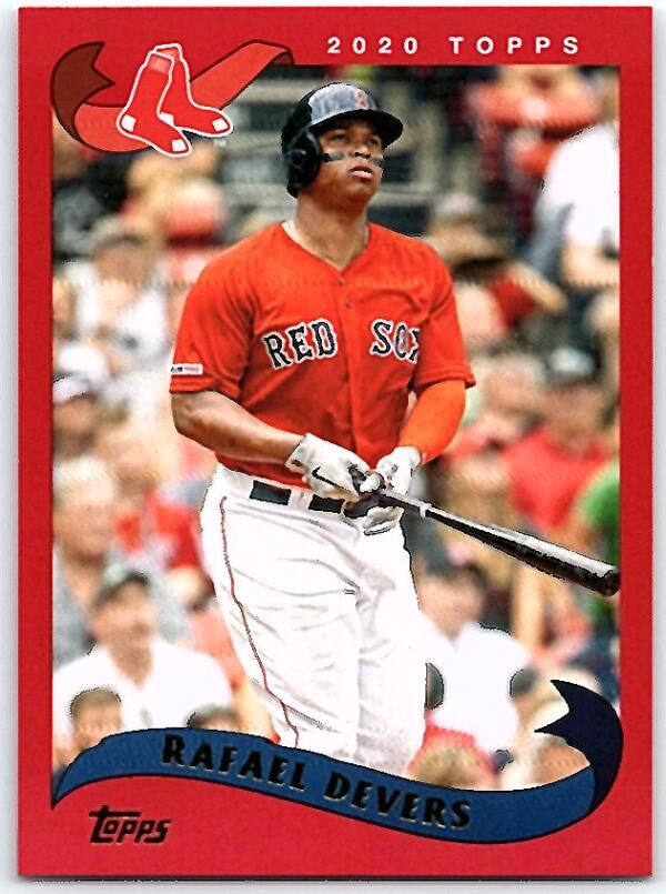 2020 Topps Archives Red