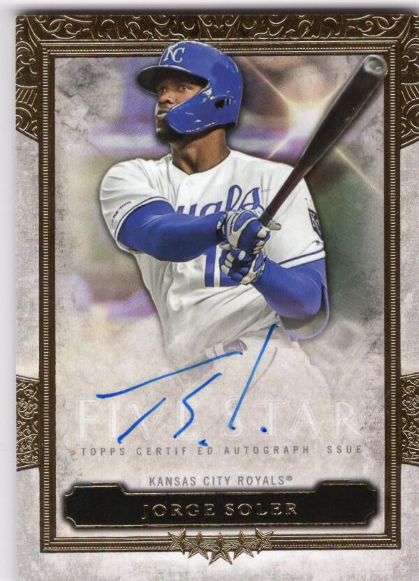 2020 Topps Five Star Autograph