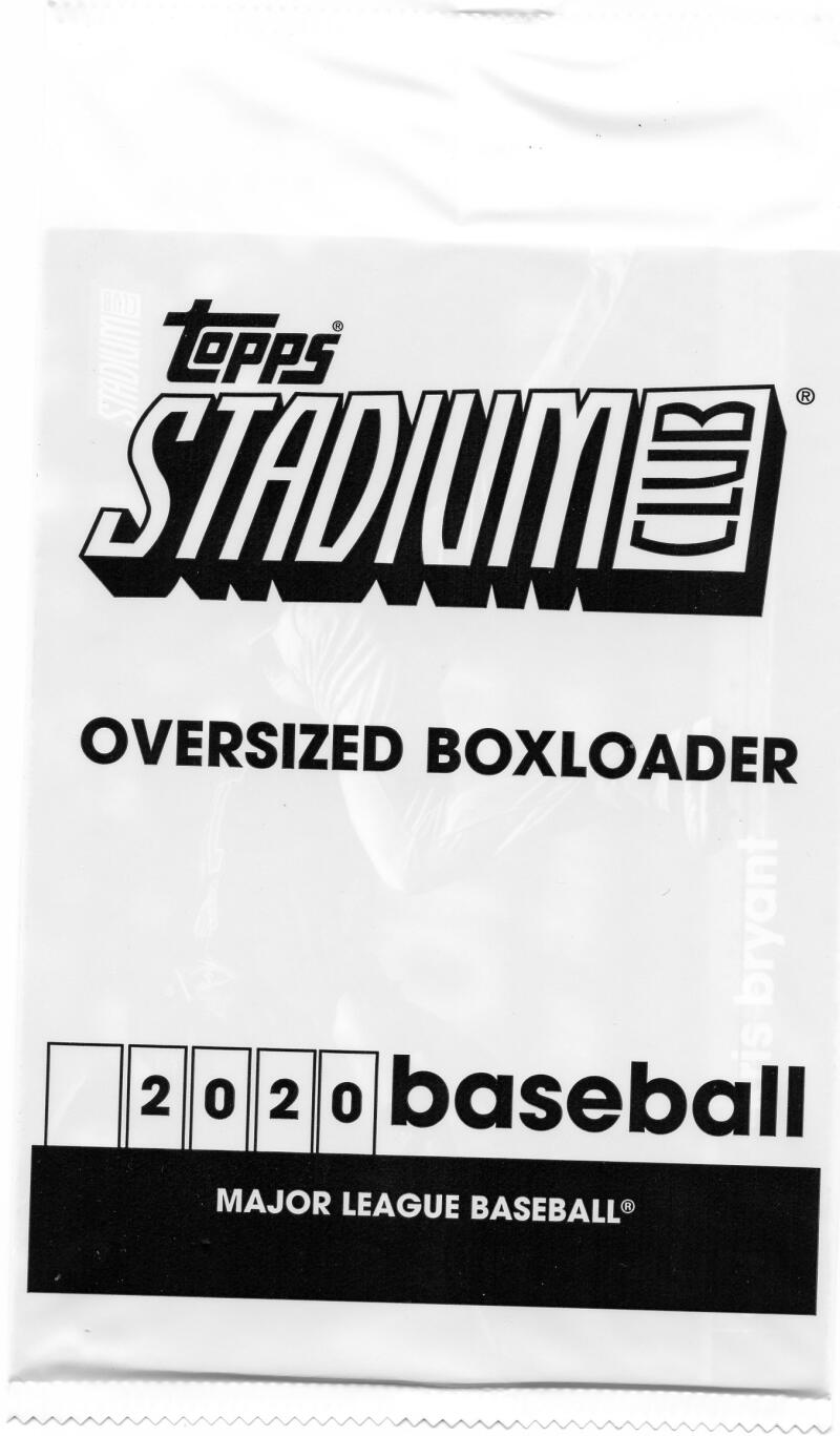 2020 Topps Stadium Club Oversized Box Loaders