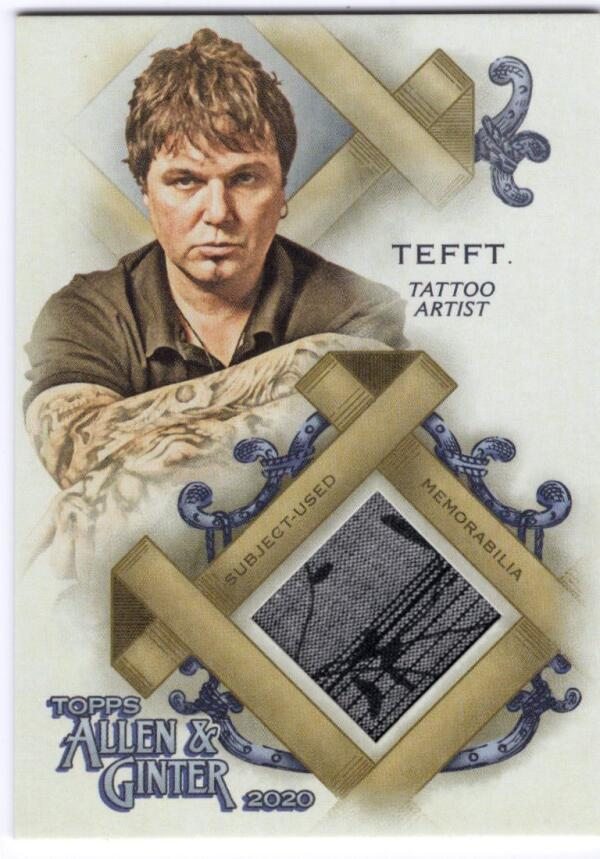2020 Allen and Ginter  Full-Size Relics A-Group
