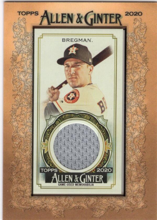 2020 Allen and Ginter  Framed Mini Relics