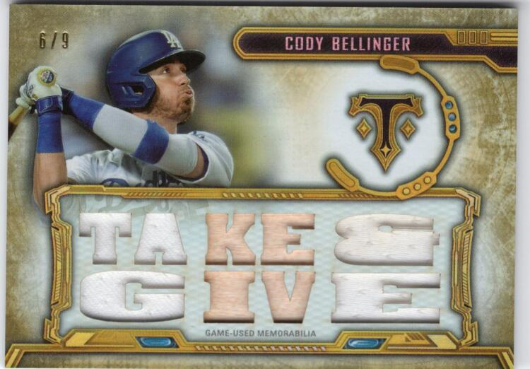 2020 Topps Triple Threads Relics Gold