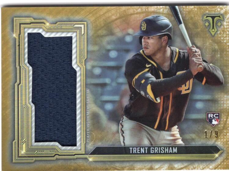 2020 Topps Triple Threads Single Jumbo Relics Gold