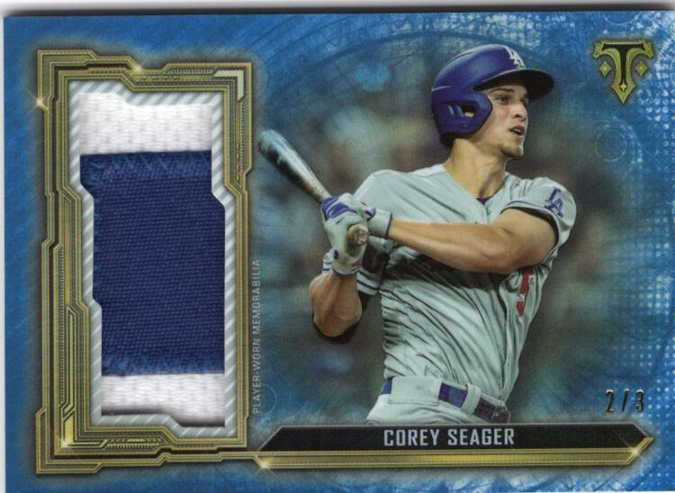 2020 Topps Triple Threads Single Jumbo Relics Sapphire