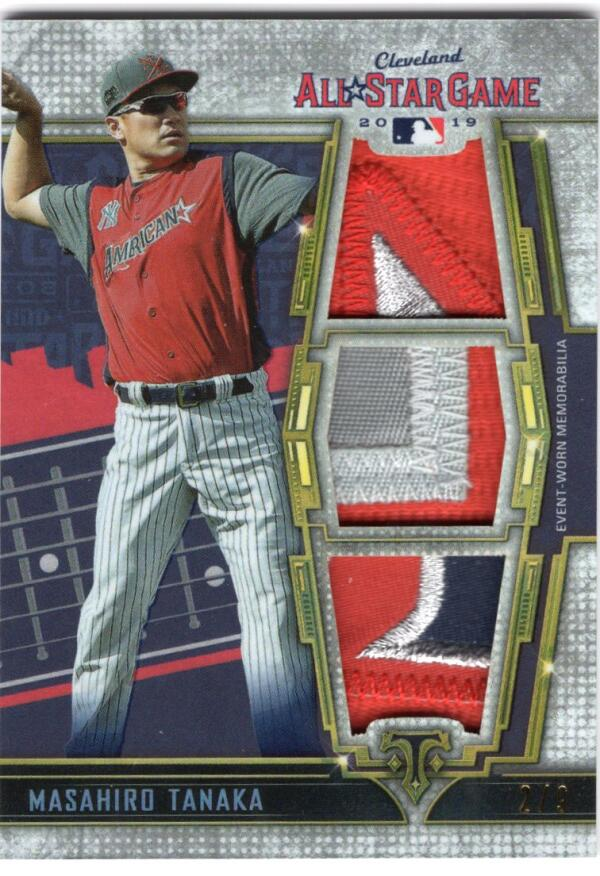2020 Topps Triple Threads All-Star Patches