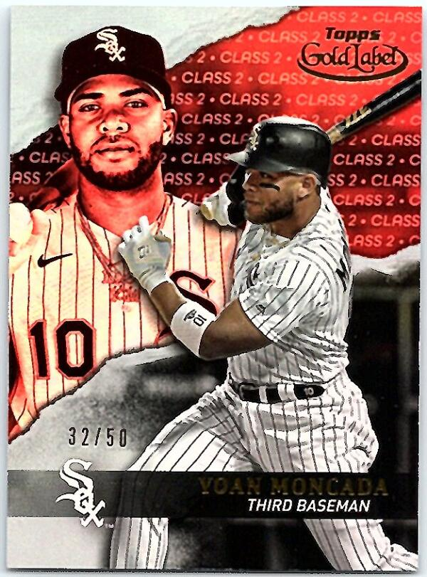 2020 Topps Gold Label Class 2 Red