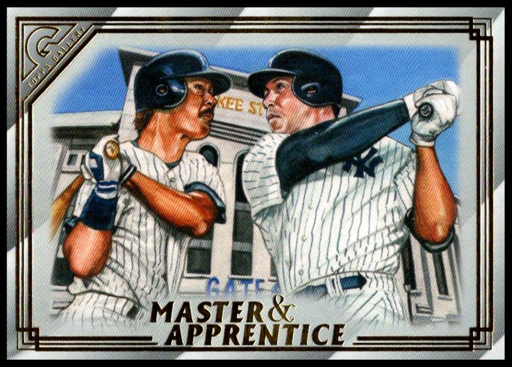 2020 Topps Gallery Master and Apprentice