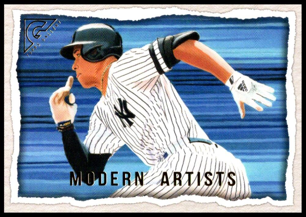 2020 Topps Gallery Modern Artists