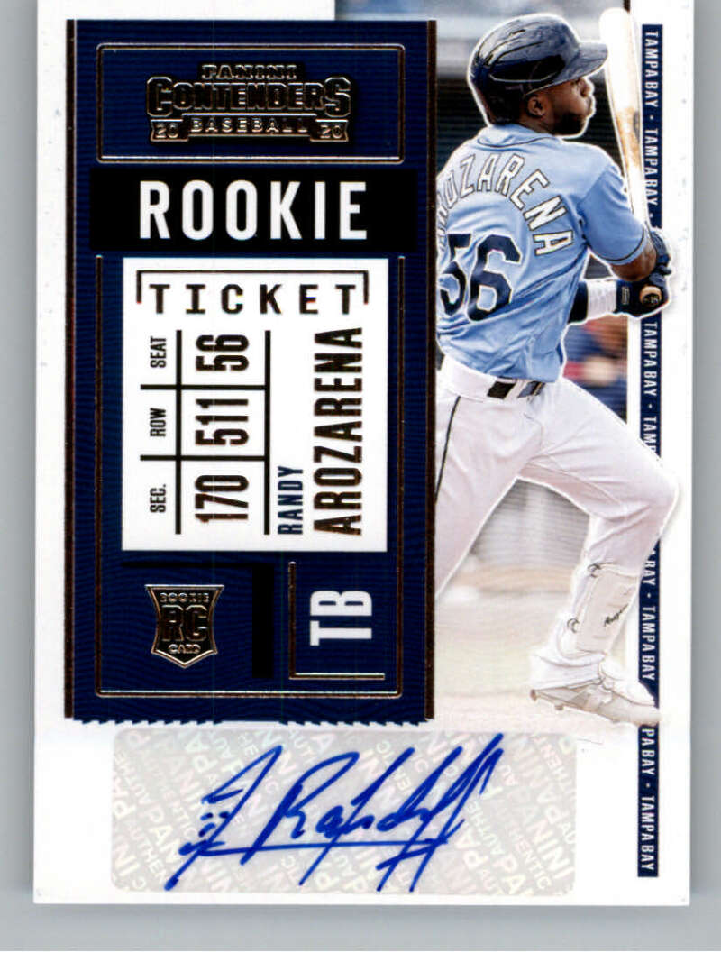 2020 Panini Contenders Rookie Ticket Variation A 2