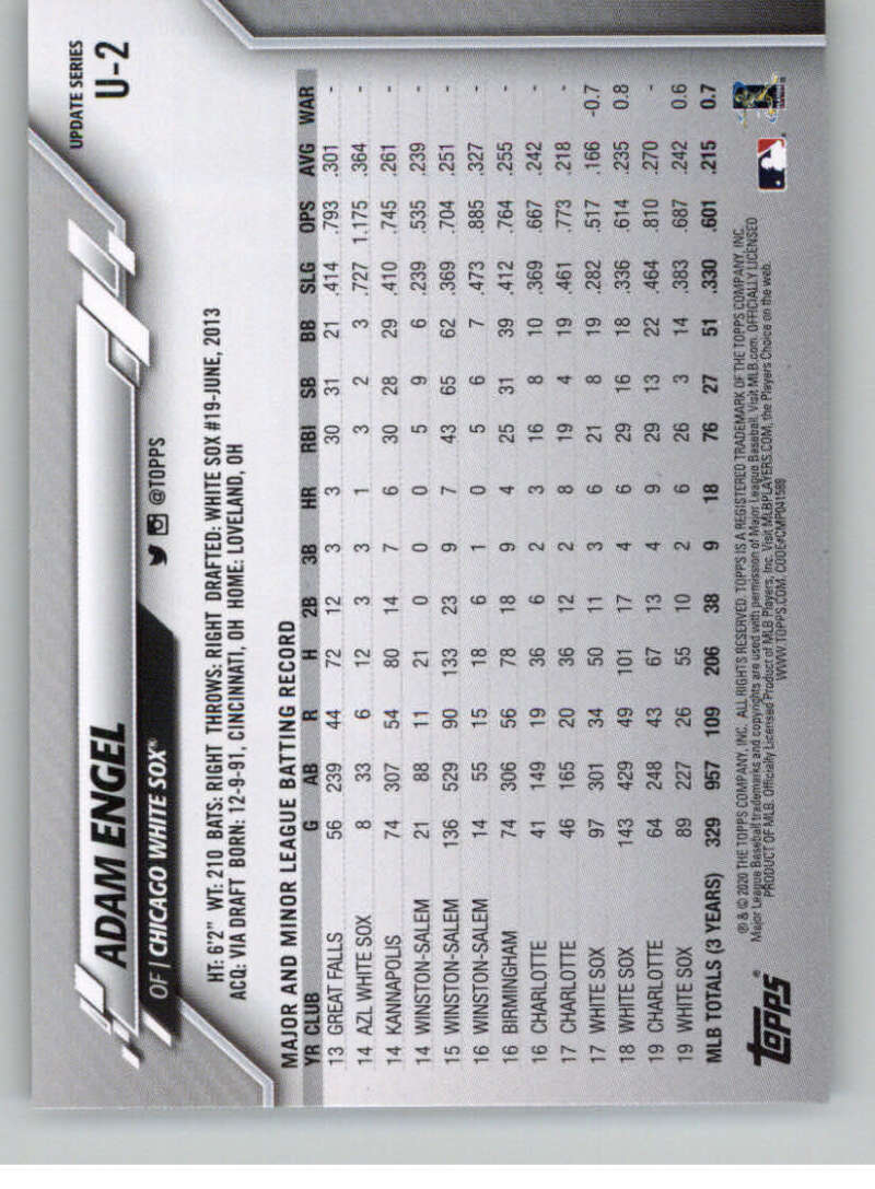 thumbnail 5 - 2020 Topps Update Baseball Singles | NM-MT+ | Complete Your Set | You Pick!