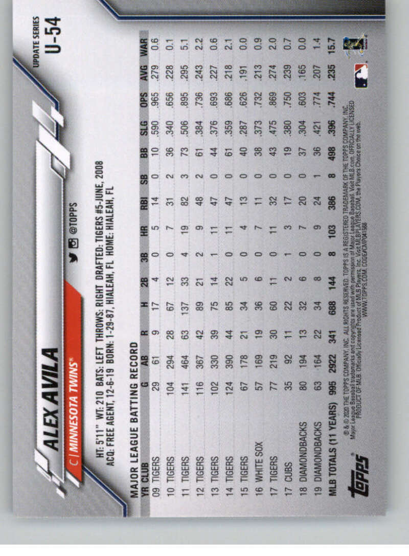 thumbnail 87 - 2020 Topps Update Baseball Singles | NM-MT+ | Complete Your Set | You Pick!