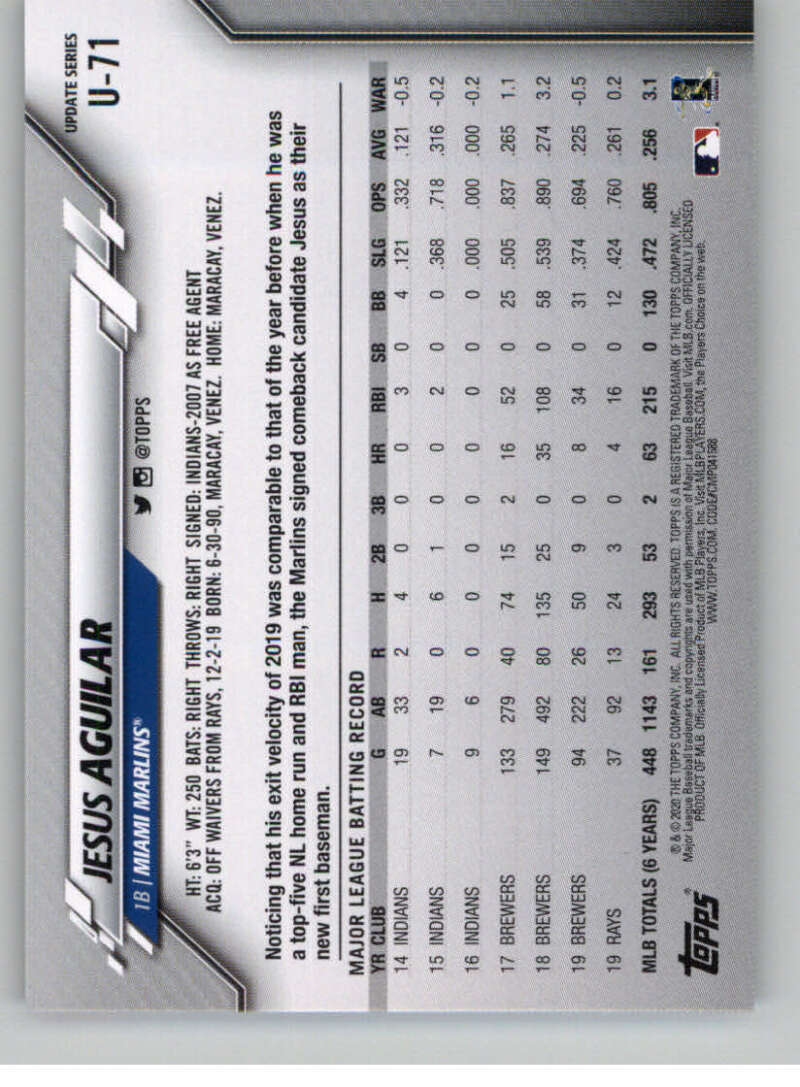 thumbnail 117 - 2020 Topps Update Baseball Singles | NM-MT+ | Complete Your Set | You Pick!