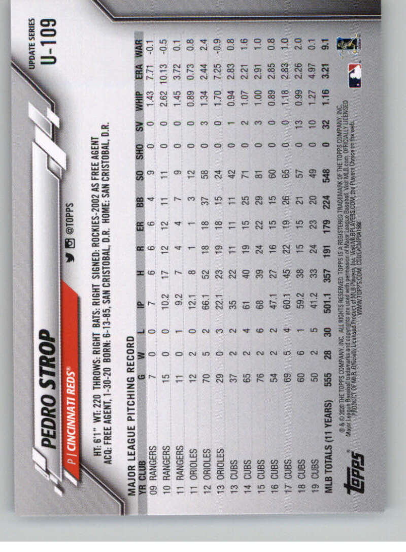 thumbnail 169 - 2020 Topps Update Baseball Singles | NM-MT+ | Complete Your Set | You Pick!