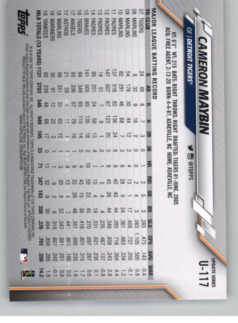 thumbnail 179 - 2020 Topps Update Baseball Singles | NM-MT+ | Complete Your Set | You Pick!