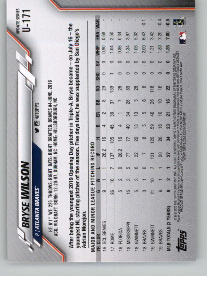 thumbnail 255 - 2020 Topps Update Baseball Singles | NM-MT+ | Complete Your Set | You Pick!