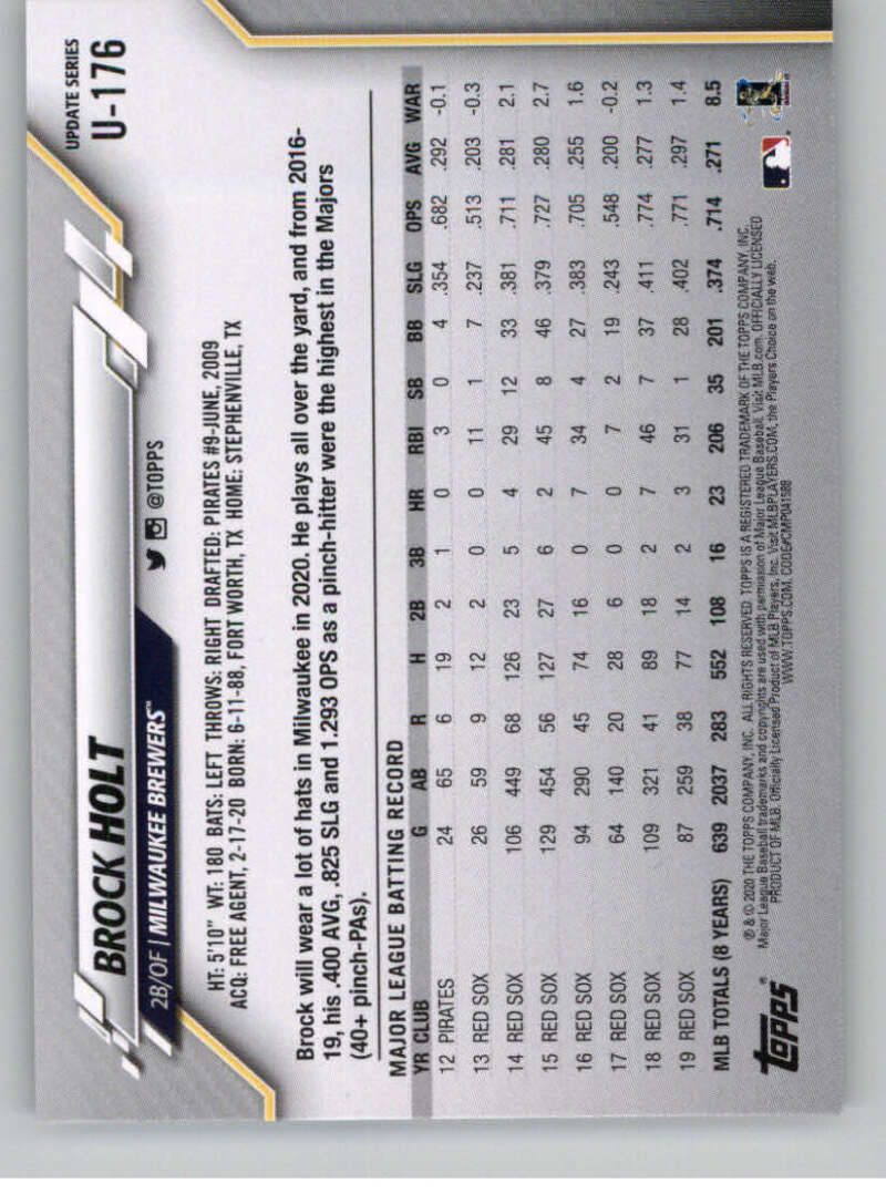 thumbnail 263 - 2020 Topps Update Baseball Singles | NM-MT+ | Complete Your Set | You Pick!