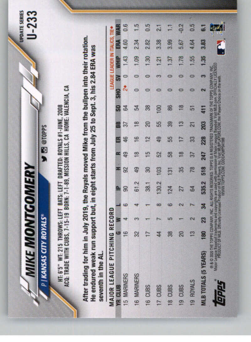 thumbnail 353 - 2020 Topps Update Baseball Singles | NM-MT+ | Complete Your Set | You Pick!