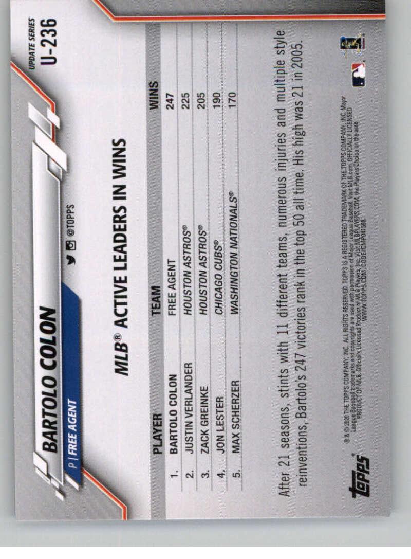 2020 Topps Update #U-283 Tomas Nido NM-MT New York Mets Baseball