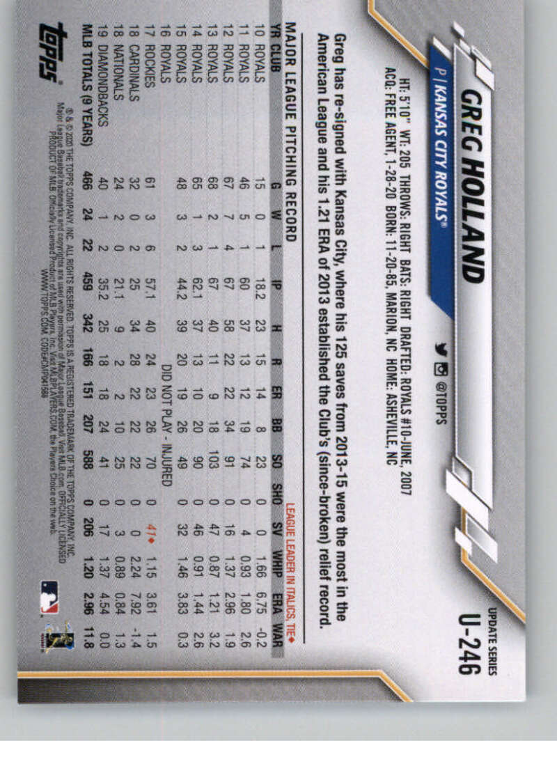 thumbnail 373 - 2020 Topps Update Baseball Singles | NM-MT+ | Complete Your Set | You Pick!