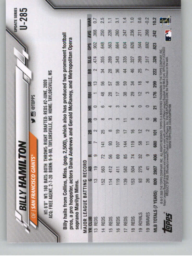 thumbnail 421 - 2020 Topps Update Baseball Singles | NM-MT+ | Complete Your Set | You Pick!