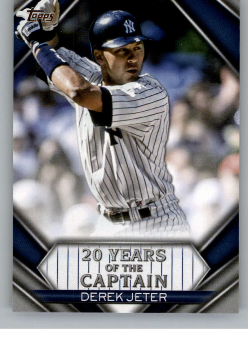 2020 Topps Update 20 Years of The Captain