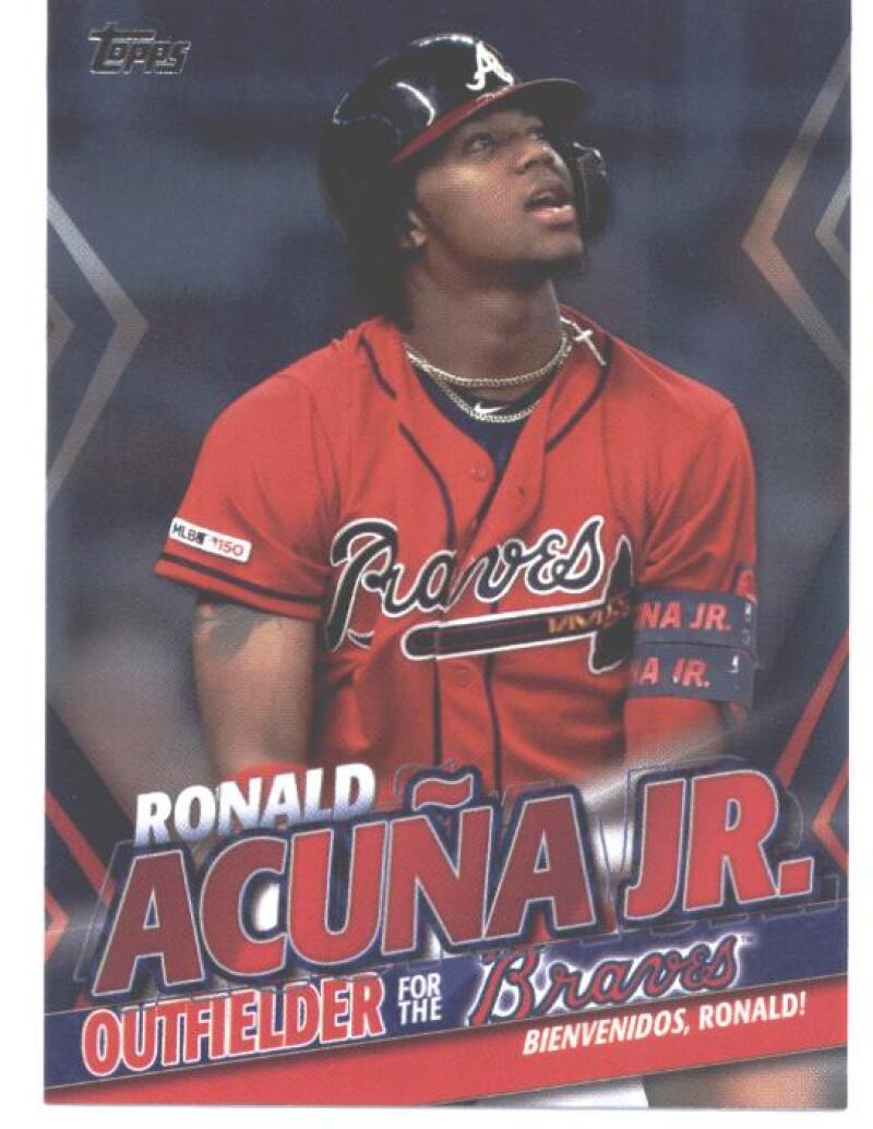 2020 Topps Update Ronald Acuna Jr. Highlights