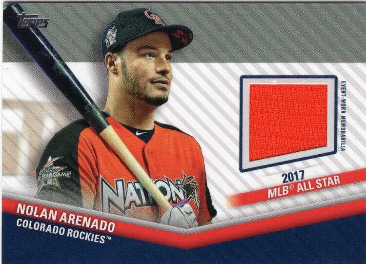 2020 Topps Update All-Star Stitches Relics