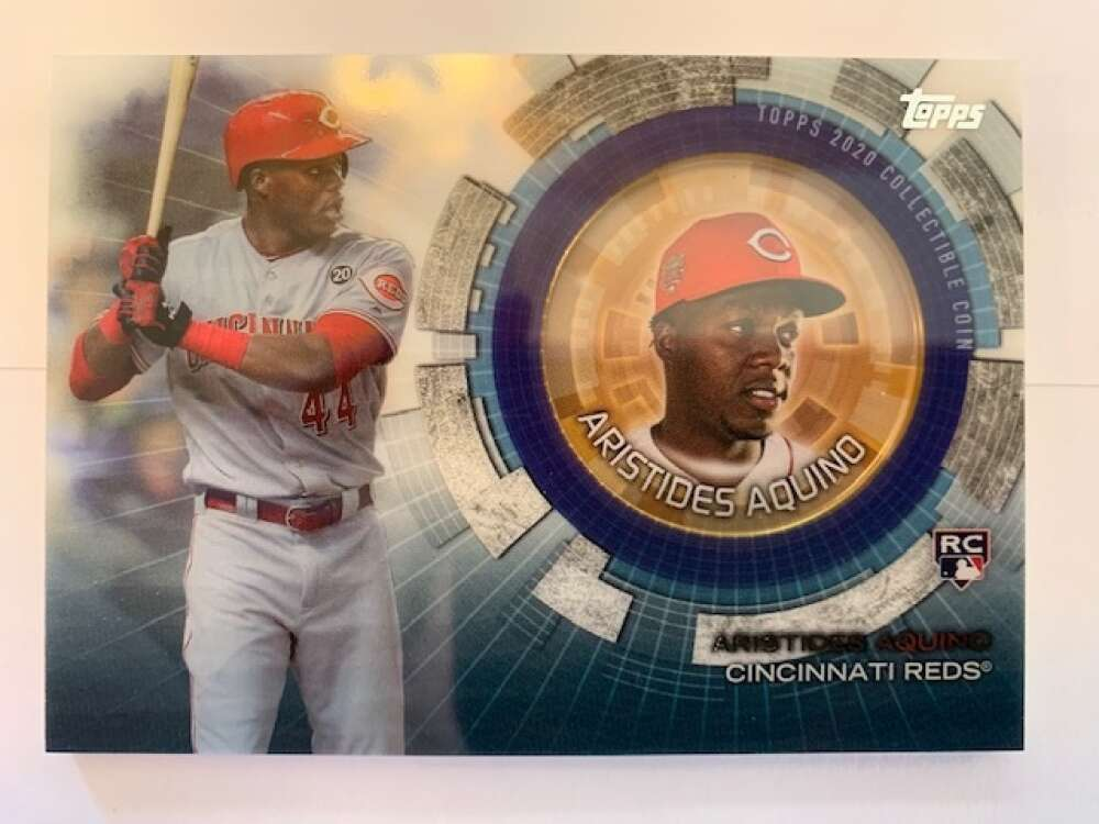 2020 Topps Update Baseball Coin Cards Relics