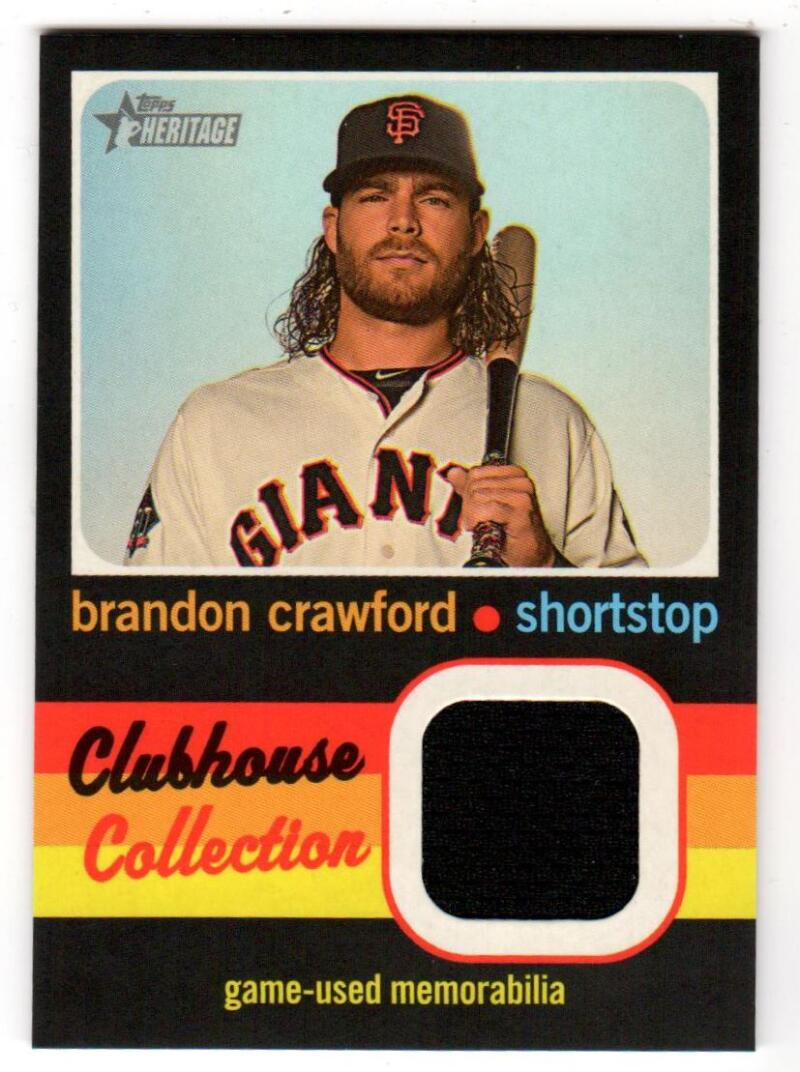 2020 Topps Heritage High Number Clubhouse Collection Relics