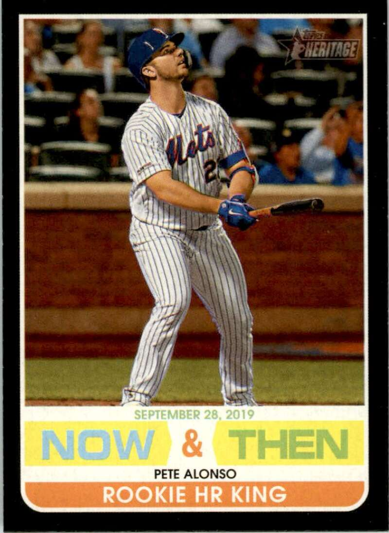 2020 Topps Heritage High Number Now and Then