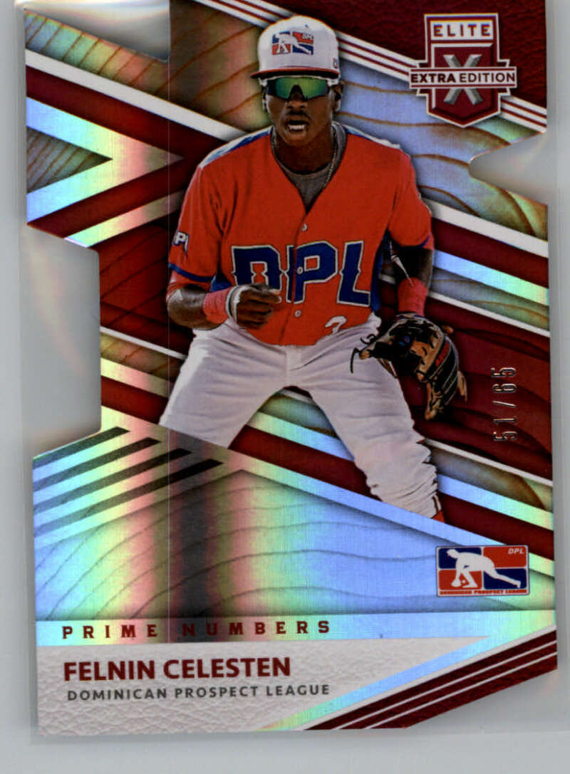 2020 Panini Elite Extra Edition DPL Prime Numbers A Die-Cut