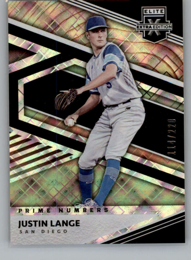 2020 Panini Elite Extra Edition Prime Numbers A