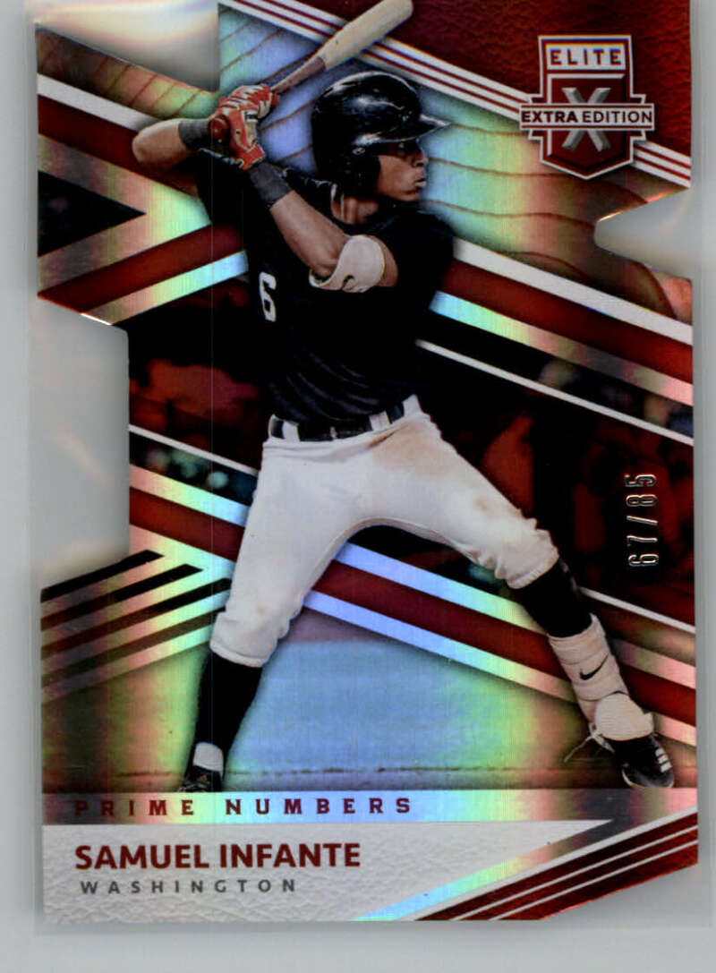 2020 Panini Elite Extra Edition Prime Numbers A Die-Cut