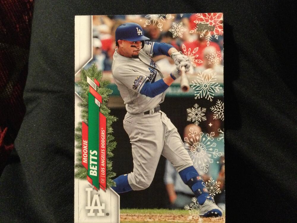 2020 Topps Holiday